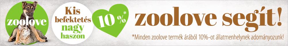 Zoolove adományozás