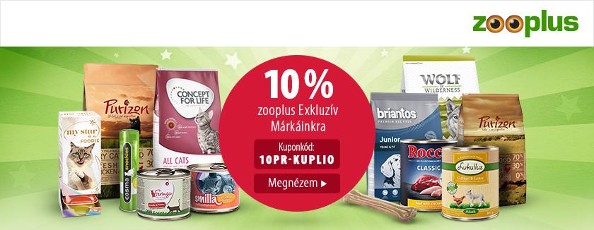 exkluzív márkák a zooplus-on