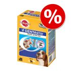 100 + 40 zdarma! 140 x Pedigree Dentastix / Dentastix Fresh