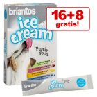 16 + 8 gratis! 24 x 20 g Briantos Ice Cream