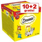 10 + 2 gratis! 12 x 60 g Catisfactions Dreamies Mixbox