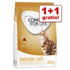 1 + 1 gratis! 2 x 400 g Concept for Life Tørrfòr for Katter