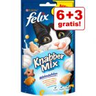 6 + 3 gratis! 9 x 60 g Felix Party Mix