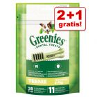 2 + 1 gratis! 3 x 85 g Greenies Tannpleie Tyggesnacks