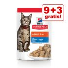 9 + 3 gratis! 12 x 85 g Hill's Science Plan