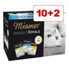 10 + 2 gratis! 12 x 100 g Miamor Ragout Royale Mix