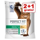 2 + 1 gratis! 3 x 750 g Perfect Fit