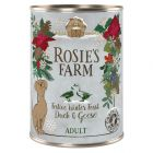 5 + 1 gratis! 6 x 400 g Rosie's Farm Winter Edition