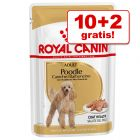 10 + 2 gratis! 12 x 85 g Royal Canin Breed