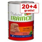 20 + 4 gratis! 24 x 400 g Trainer Natural