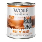 5 + 1 gratis! 6 x 800 g Wolf of Wilderness Adult