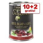 10 + 2 gratis! 12 x 400 g zooplus Selection