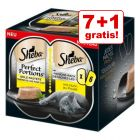 7 + 1 gratis! 8 x 6 x 37,5 g Sheba Perfect Portions