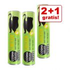 2 + 1 gratis! 3 x Cosma Snackies & Snackies XXL Maxi Tube