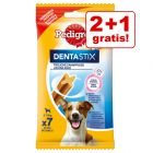 2 + 1 gratis! 3 x Pedigree Dentastix