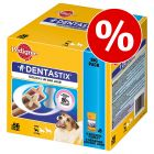 112 + 28 gratis! 140 x Pedigree Dentastix
