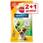 2 + 1 gratis! 3 x Snack Pedigree