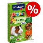 2 + 1 gratis! 3 x Vitakraft Cavia Biscuits Trio-Mix