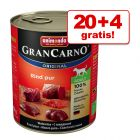 20 + 4 gratis! Animonda GranCarno Original Adult, 24 x 800 g