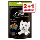 2 + 1 gratis! Cesar snacks