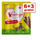 6 + 3 gratis! Feringa Sticks, 9 x 6 g