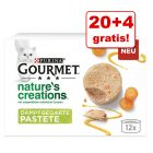 20 + 4 gratis! Gourmet Nature's Creations, 24 x 85 g