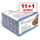11 + 1 gratis! Mešano pakiranje Applaws Adult 12 x 70 g