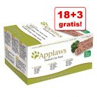 18 + 3 gratis! Pakiet Applaws Cat Paté, 21 x 100 g