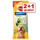 2 + 1 gratis! Pedigree DentaStix Fresh
