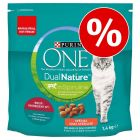 2 + 1 gratis! Purina One Dual Nature