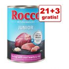 21 + 3 gratis! Rocco Junior, 24 x 400 g