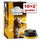 10 + 2 gratis! Wild Freedom Adult, tacki, 12 x 85 g