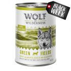20 + 4 gratis! Wolf of Wilderness 24 x 800 g hrană umedă