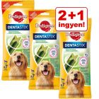 2 + 1 ingyen! 3 x Pedigree Dentastix Fresh Medium & Large