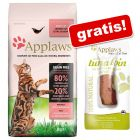 1,8 / 2 kg Applaws kattetørfoder + 30 g Applaws Cat Tuna Loin gratis!
