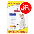 10 + 2 kg gratis! 12 kg Hill's Science Plan Trockenfutter