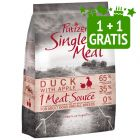 1 + 1 kg gratis! 2 kg Purizon Single Meat