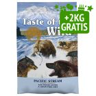 12,2 + 2 kg gratis! Taste of the Wild Canine