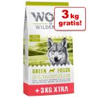 12 + 3 kg gratis! Wolf of Wilderness Adult Overfill