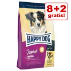 8 + 2 kg på köpet! 10 kg Happy Dog Supreme valpfoder