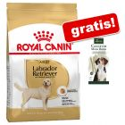7,5 / 12 kg Royal Canin Breed + Hunter Calcium Milk Bone gratis!