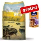 5,8 / 6 kg Taste of the Wild + 80 g Vitakraft LAMB Felii de miel gratis!