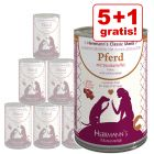 5 + 1 offert ! 6 x 400 g Boîtes Herrmanns Menu Sensitive cheval