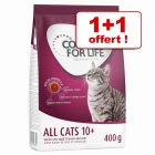 1 + 1 offert ! 2 x 400 g Concept for Life All Cats 10+
