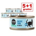 5 + 1 offert ! 6 x 70 g Cosma Nature pour chat