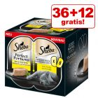 36 + 12 offerts ! 48 x 37,5 g Sheba Perfect Portions pour chat