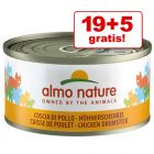 19 + 5 offerts ! Almo Nature 24 x 70 g pour chat