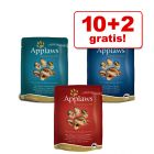 10 + 2 på köpet! 12 x 70 g Applaws Cat Pouches