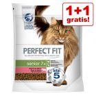 1 + 1 på köpet! 2 x 750 g Perfect Fit  torrfoder katt