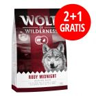 2 + 1 på köpet! 3 x 1 kg Wolf of Wilderness